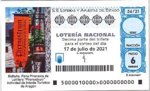 Lotería Nacional Sábado (6€) 17/07/2021