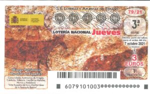 Lotería Nacional Jueves (3€) 07/10/2021