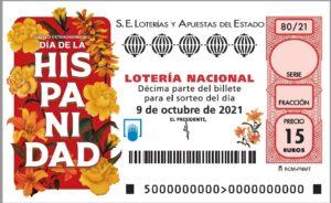 Lotería Nacional Sábado (15€) 09/10/2021